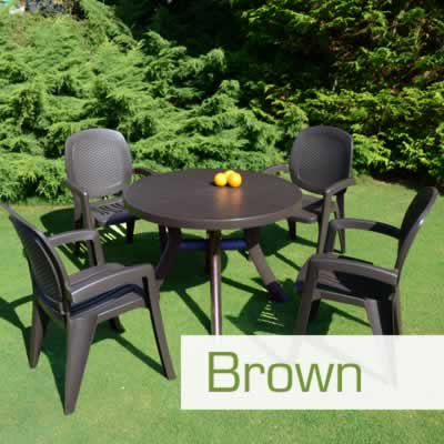 Brown Resin Furniture