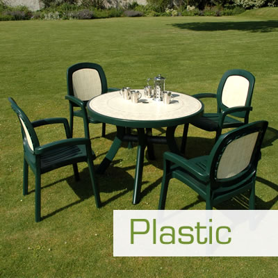 Plastic and Resin Garden Furniture