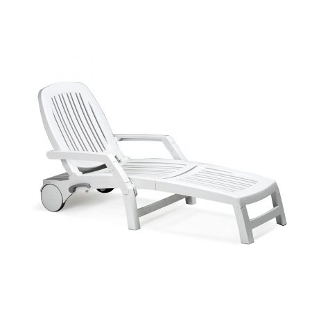 ND-234 Vulcano Sun Lounger - White