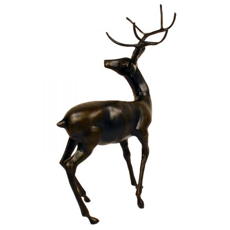 Large Stag bronze effect