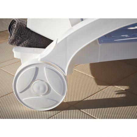 Ocean Sunbed wheels