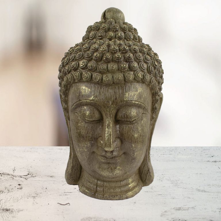 Buddha head indoor ornament