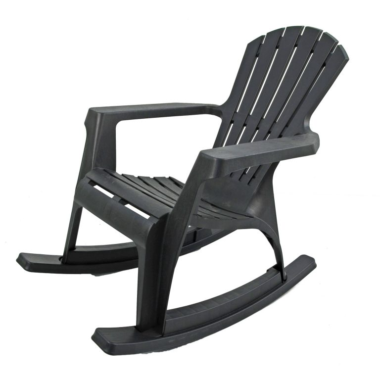 ANDRIA ROCKING CHAIR ANTHRACITE