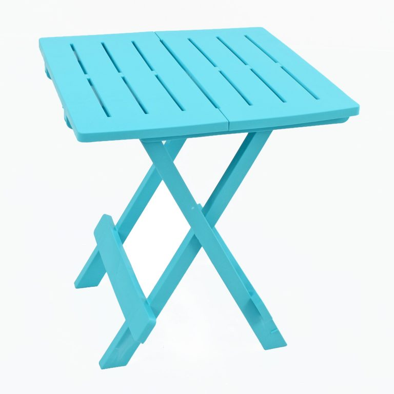 BARI SIDE TABLE BLUE