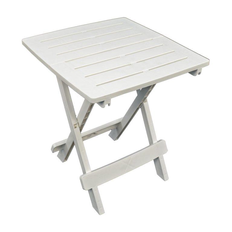 BARI SIDE TABLE WHITE