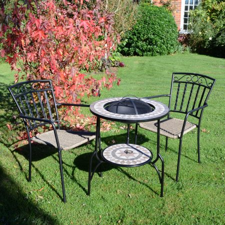 BRAVA FIRE PIT 60CM SET MODENA OUTDOOR 1