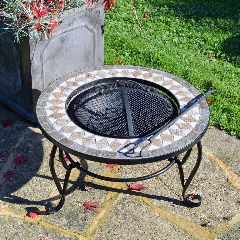 BRAVA FIRE PIT LOW OUTDOOR 1