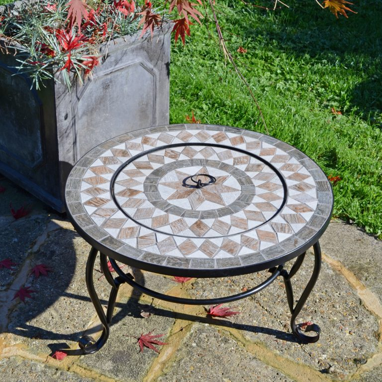 BRAVA FIRE PIT LOW OUTDOOR 2