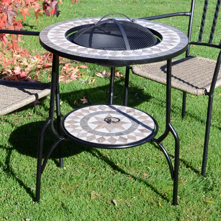 BRAVA FIRE PIT TALL OUTDOOR 1