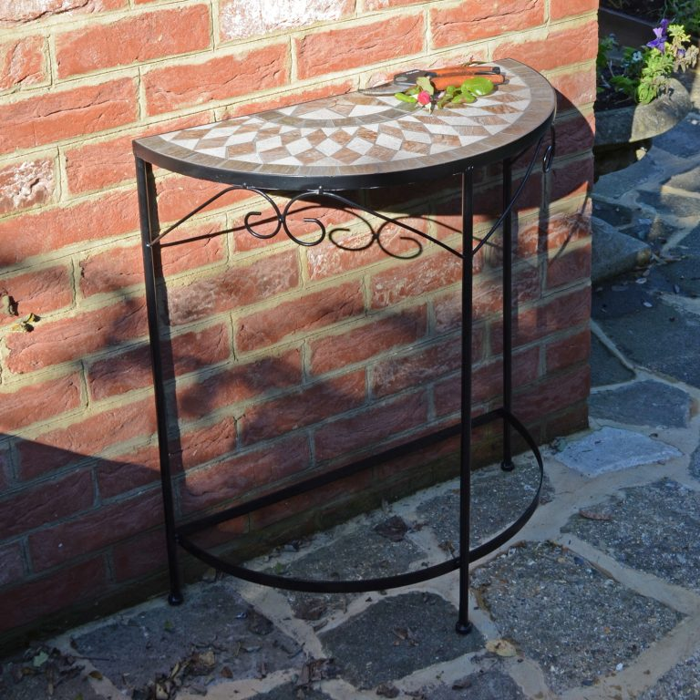 BRAVA SEMI TABLE OUTDOOR 2