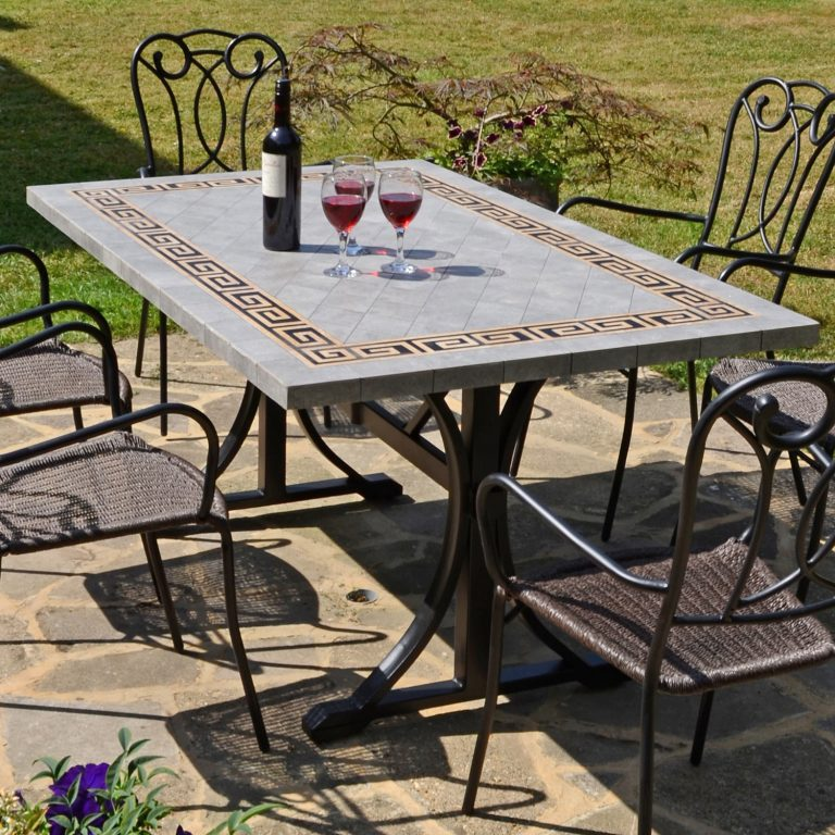 BURLINGTON DINING TABLE OUTDOOR