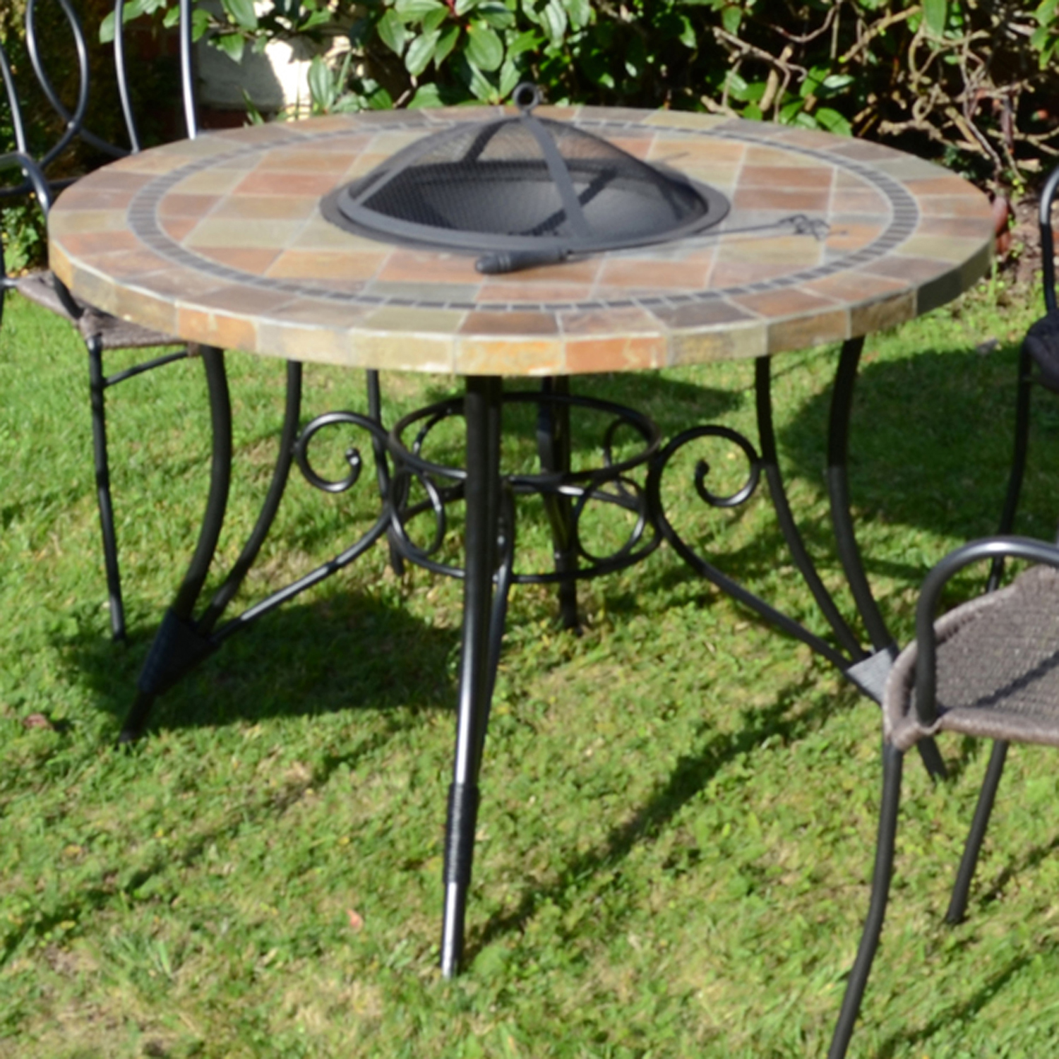 COLORADO 107CM FIRE PIT TABLE OUTDOOR 1