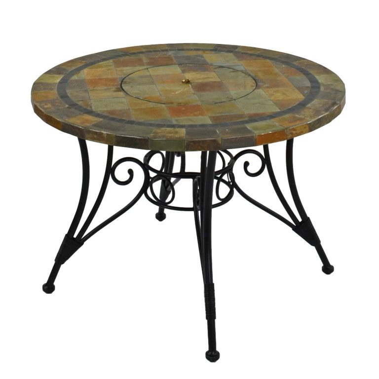 COLORADO 107CM FIRE PIT TABLE PROFILE 2