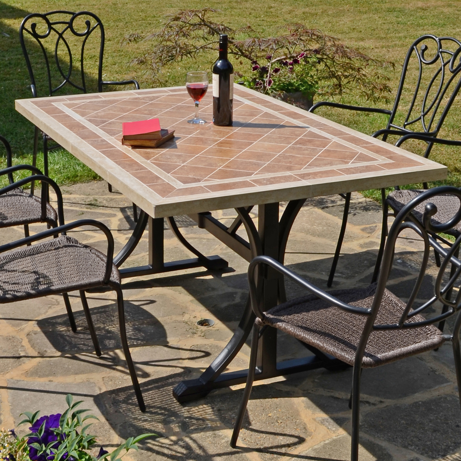 HAMPTON DINING TABLE OUTDOOR