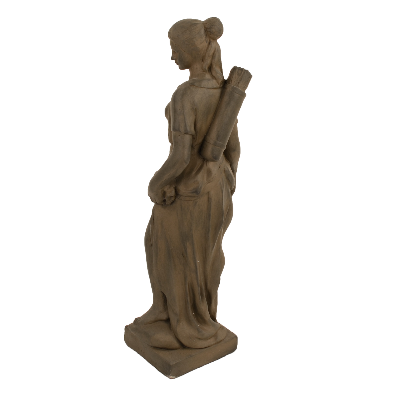 HEIDI HUNTER GIRL 85CM RUST EFFECT BACK LEFT