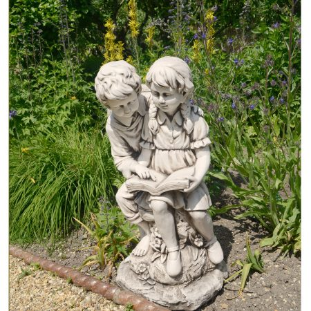 JACK JILL READING 88CM ANTIQUE STONE EFFECT OUTDOOR