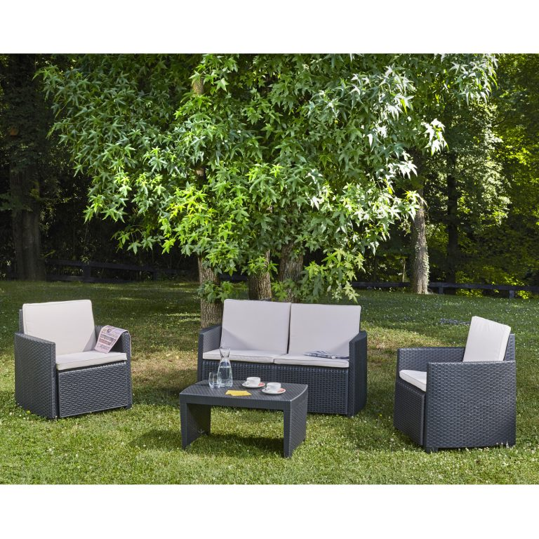 LIVORNO SET ANTHRACITE OUTDOOR