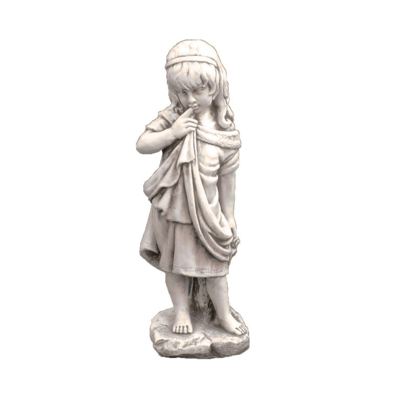 LUCY 61CM ANTIQUE STONE EFFECT FRONT