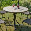 MONTEREY 100CM DINING TABLE OUTDOOR