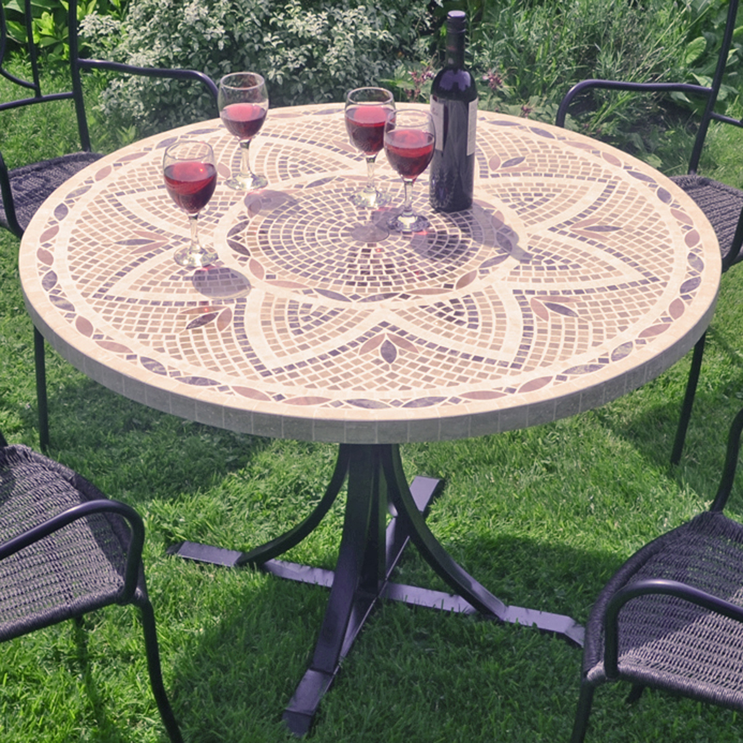 MONTPELLIER 110CM DINING TABLE OUTDOOR