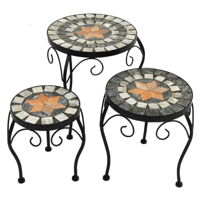NOVA PLANTSTAND SET OF 3 LOW 1