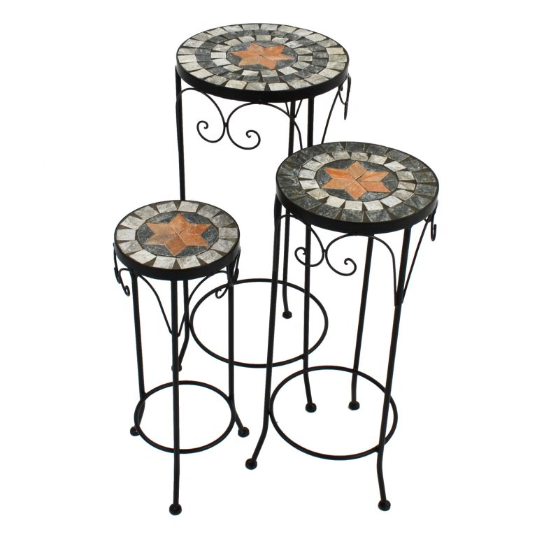 NOVA PLANTSTAND SET OF 3 TALL 1