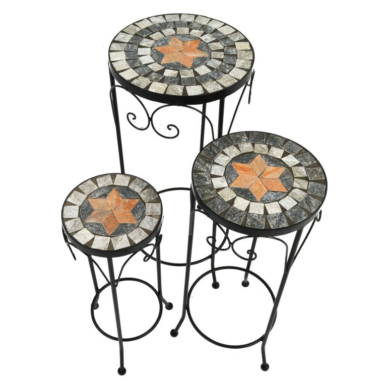 NOVA PLANTSTAND SET OF 3 TALL 2