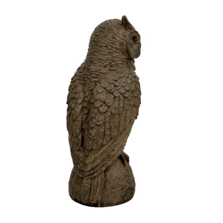 OWL 41CM RUST EFFECT RIGHT