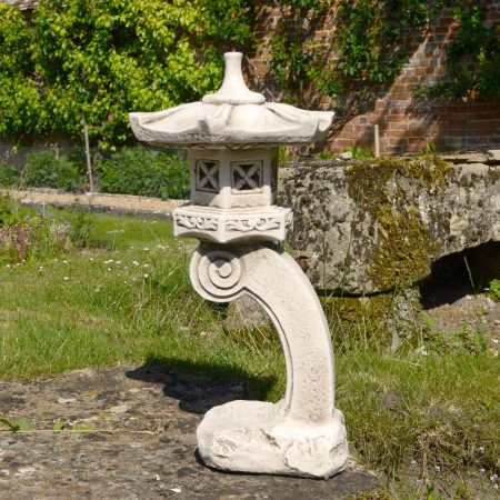 PAGODA TALL 59CM ANTIQUE STONE EFFECT OUTDOOR