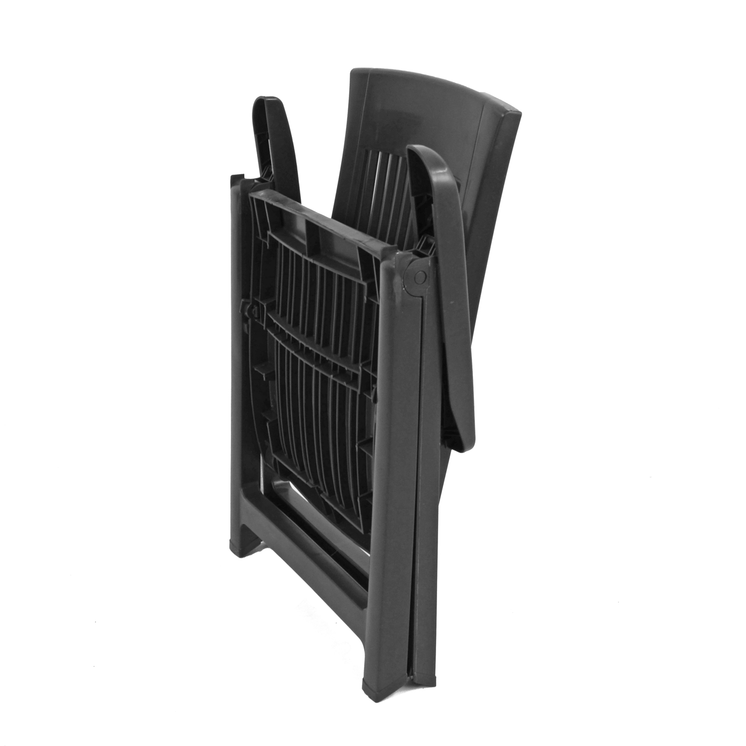 PALERMO RECLINER CHAIR ANTHRACITE FOLDED