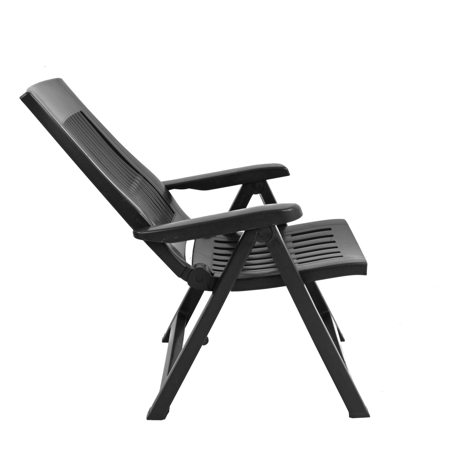 PALERMO RECLINER CHAIR ANTHRACITE RIGHT 1