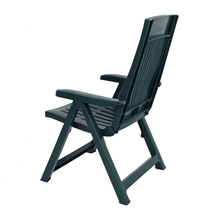 PALERMO RECLINER CHAIR GREEN BACK LEFT