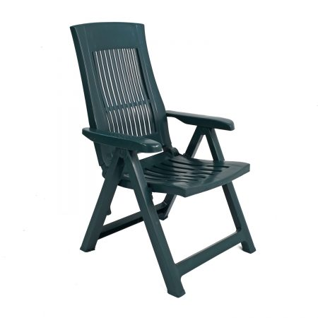 PALERMO RECLINER CHAIR GREEN FRONT RIGHT