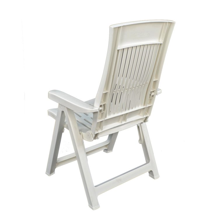 PALERMO RECLINER CHAIR WHITE BACK LEFT