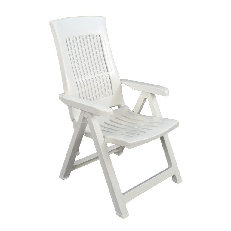 PALERMO RECLINER CHAIR WHITE FRONT RIGHT
