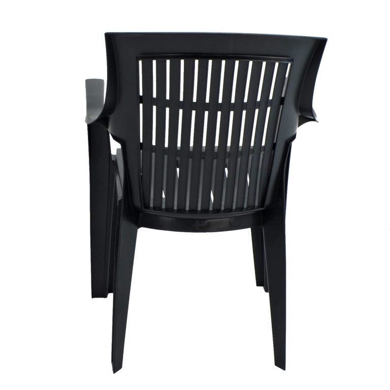 PARMA STACK CHAIR ANTHRACITE BACK