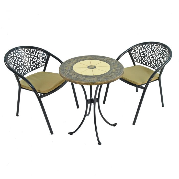 RENNES 60CM BISTRO WITH 2 FLORENCE CHAIRS SET WS1
