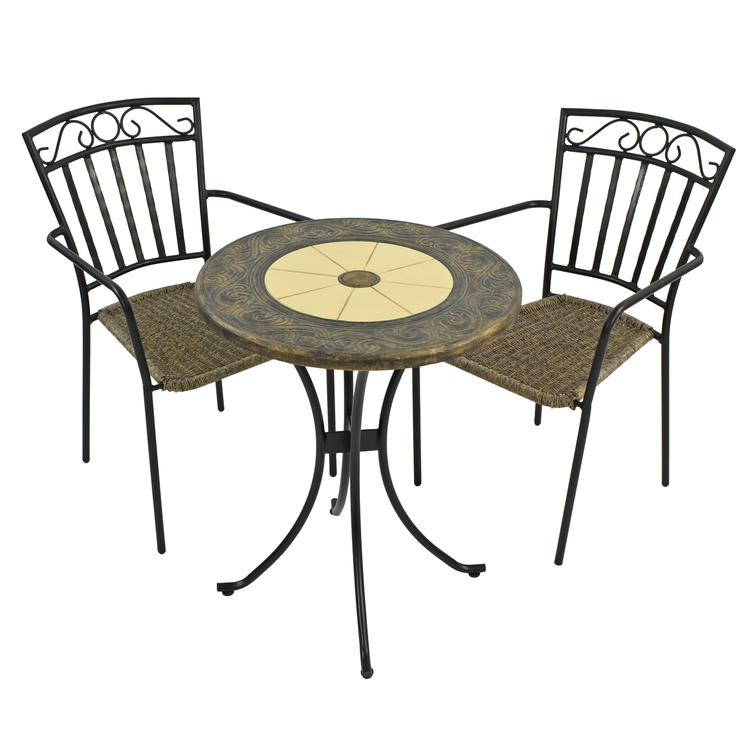RENNES 60CM BISTRO WITH 2 MODENA CHAIRS SET WG1