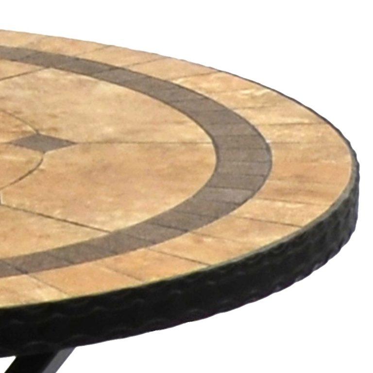 RICHMOND 76CM BISTRO TABLE DETAIL