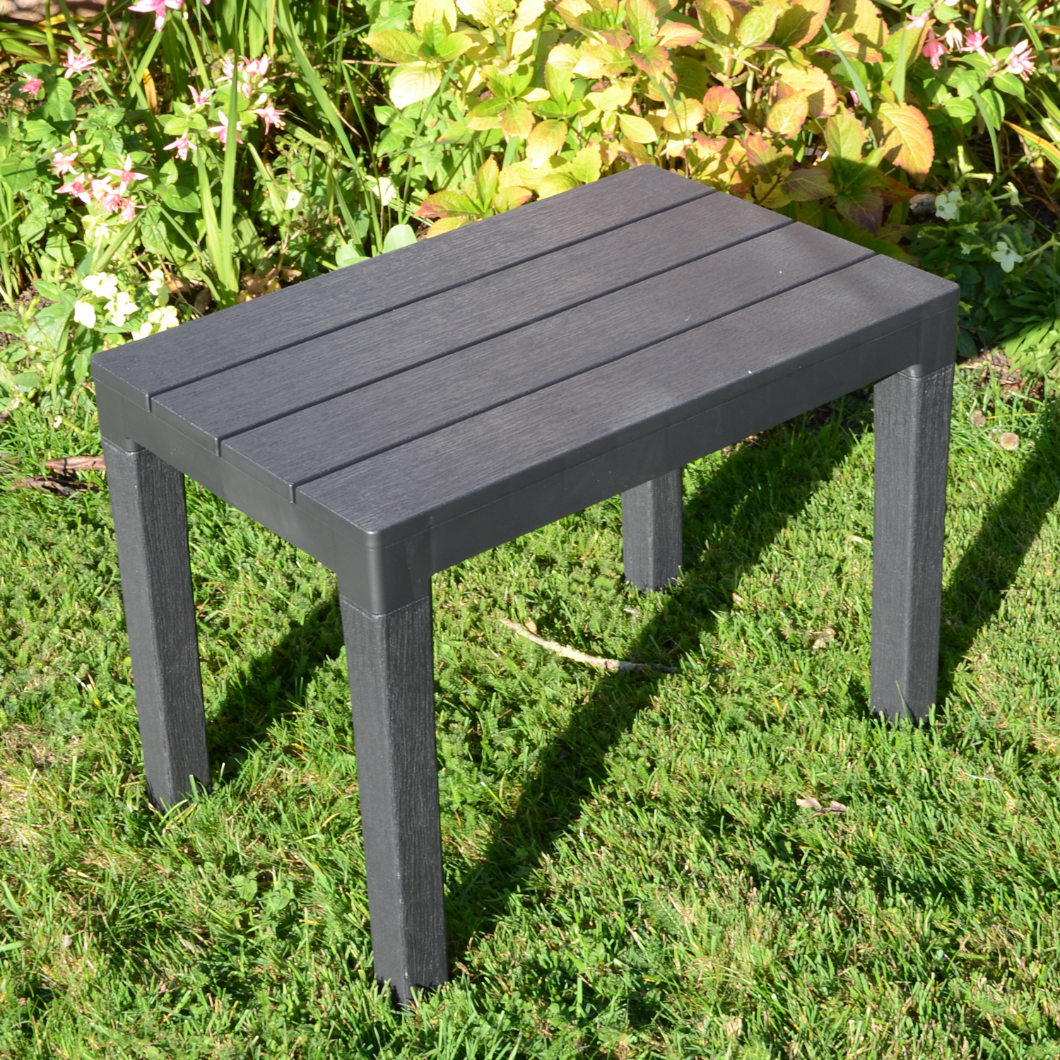 ROMA BENCH ANTHRACITE OUTDOOR