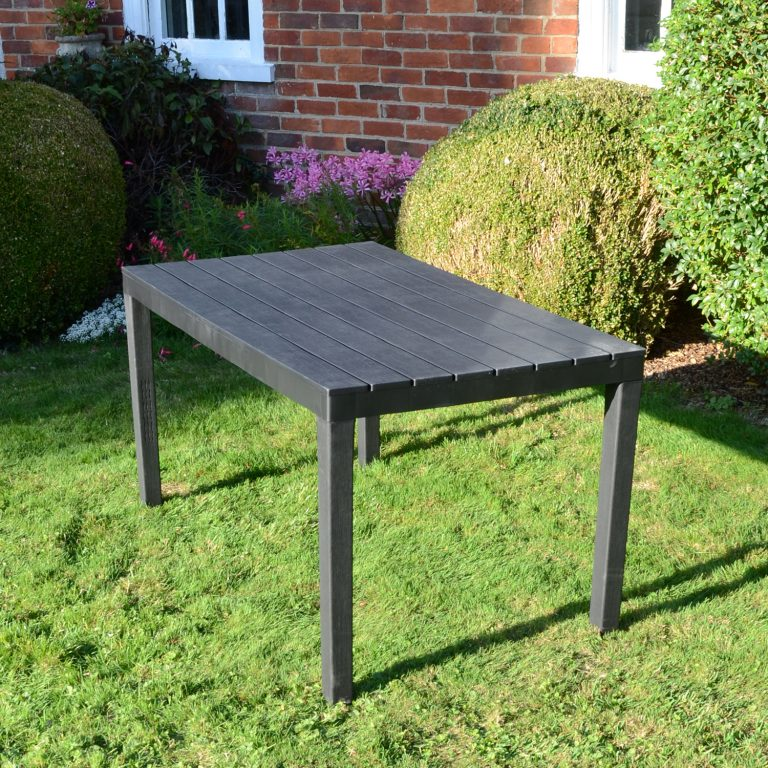 ROMA RECTANGULAR TABLE ANTHRACITE OUTDOOR