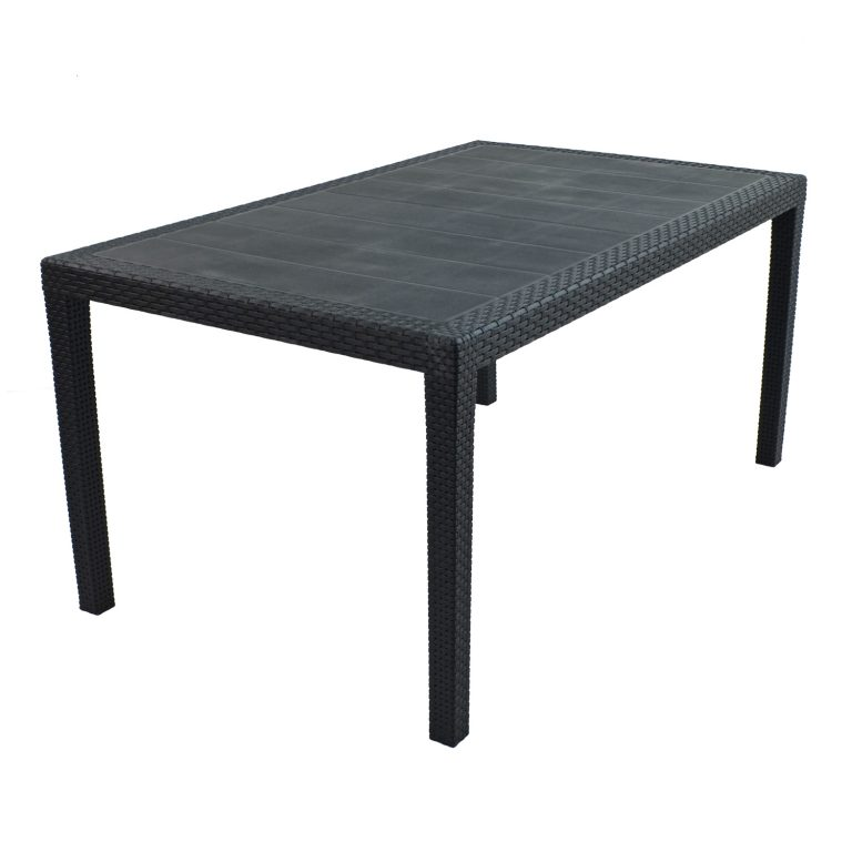 SALERNO TABLE ANTHRACITE