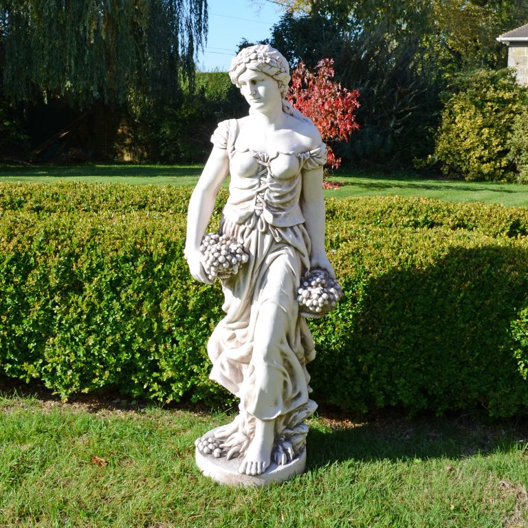 SALLY IN SUMMER 119CM ANTIQUE STONE EFFECT OUTDOOR