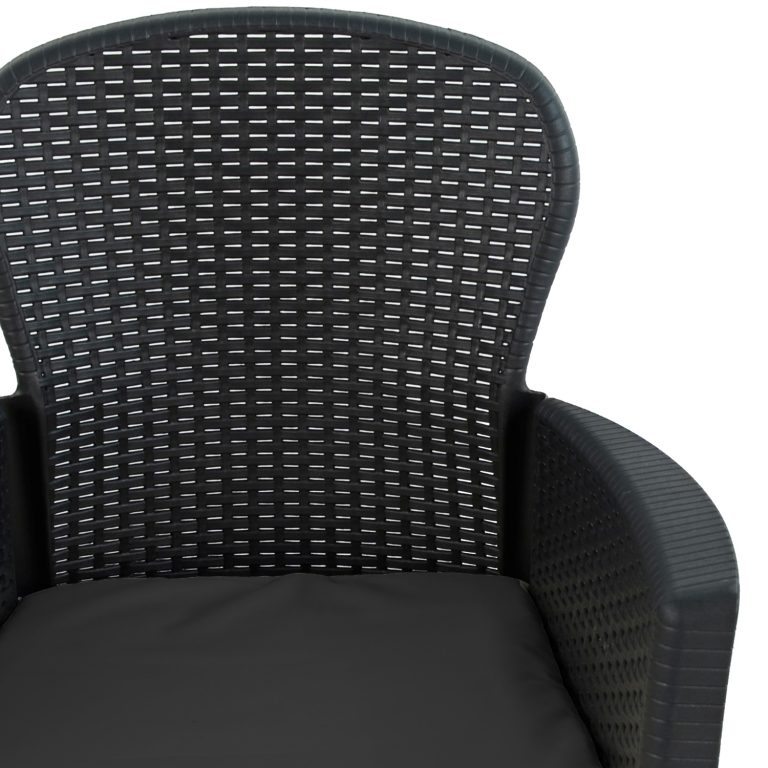 SICILY CHAIR ANTHRACITE DETAIL