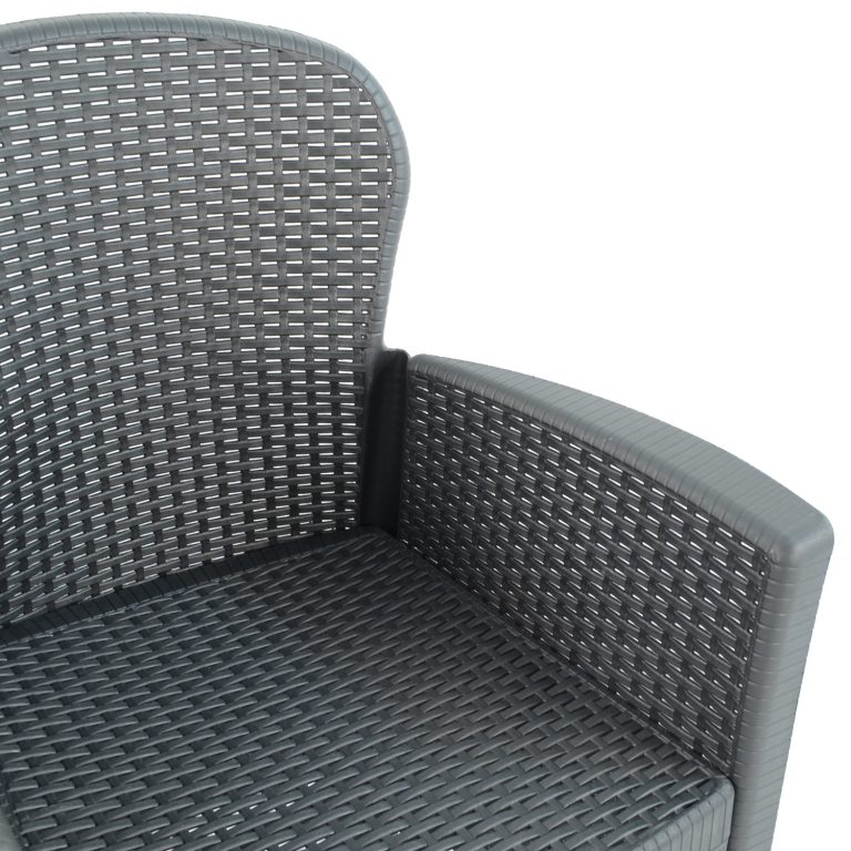 SICILY CHAIR ANTHRACITE DETAIL UNDRESSED