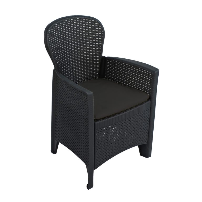 SICILY CHAIR ANTHRACITE FRONT RIGHT