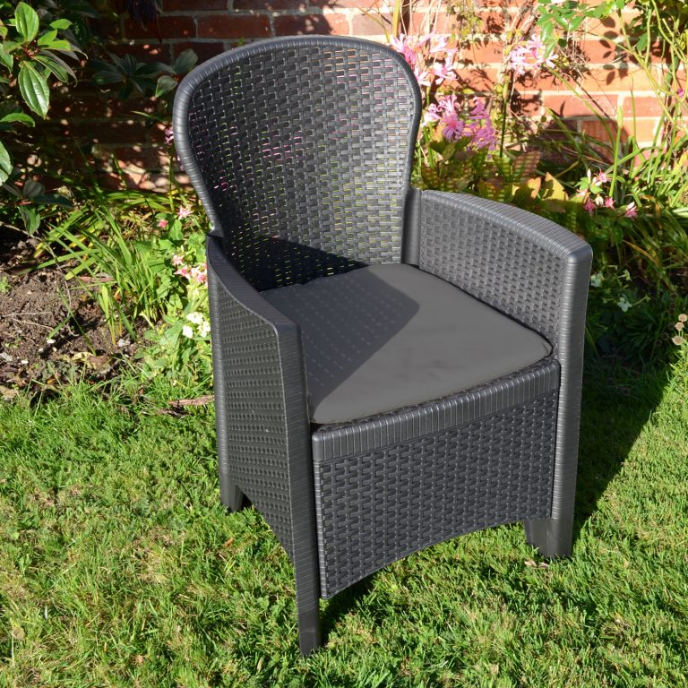 SICILY CHAIR ANTHRACITE OUTDOOR