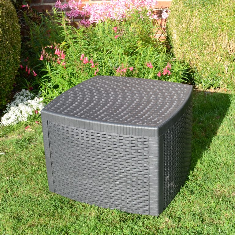 SICILY SIDE TABLE ANTHRACITE OUTDOOR