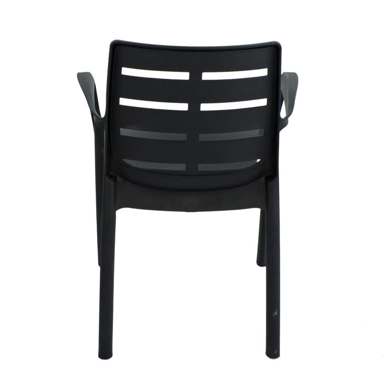 SIENA CHAIR ANTHRACITE BACK