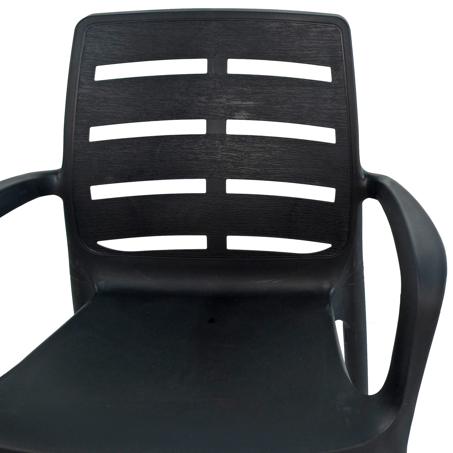 SIENA CHAIR ANTHRACITE DETAIL